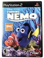 FREE SHIPPING! Finding Nemo (Sony PlayStation 2, 2003) Complete w/ Manual CIB