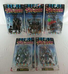 Spawn Action Figures Series 9 Manga Spawn Lot of 5 McFarlane Toys 1997 MOC