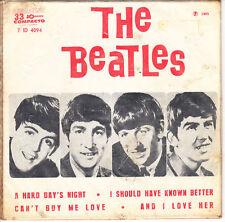 """BEATLES 7"""" brasilien 1965 BRASILIAN EP A HARD DAY'S NIGHT odeon"""