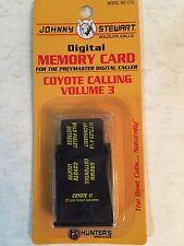 Johnny Stewart Model #MC-CY3 Calling Memory Card, Volume 3