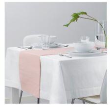 1 x IKEA Cotton Dining Table Runner- Dining Room Decor- PINK 130cmx35cm