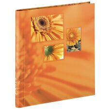Hama Singo Self-Adhesive Album for 60 Photos in Orange (UK Stock) BNIB