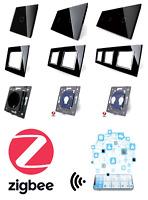LIVOLO ZigBee WLAN Lichtschalter SmartHome Glas Touch Steckdosen uvm SCHWARZ