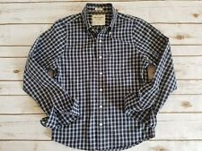Abercrombie Fitch Long Sleeve Muscle Fit Shirt Checks Plaid Button Small