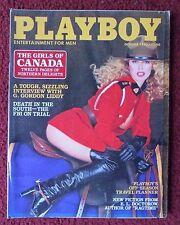 Playboy Magazine Oct 1980 ~ Canada Girls + Lisa Lyon + Mardi Jacquet Centerfold