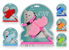 More details for cat harness and lead starter set small cats or puppy dog kitten chihuahua uk