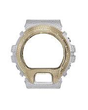 Casio G-Shock DW-6900 Y&W Stainless Steel Bezel Cover Watch 14 DIAMOND stone