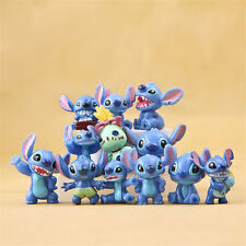 12 PCS Disney Lilo & Stitch Action Figures Collection Set Kids Toy Gifts 3.5cm