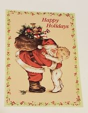 Lot of 21 Christmas Card Paper Magic Without Envelope Santa Claus Child