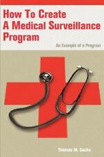 How to Create a Medical Surveillance Program : An Example of a Program by...