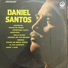 Daniel Santos, Lo Mejor, Mexican Lp Danzon