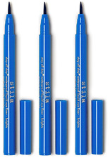 Stila Stay All Day Waterproof Liquid Eye Liner - Brights, Cobalt, .016 oz (3 Pk)