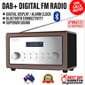 iBright DAB+ Digital FM Radio Alarm Clock With Bluetooth Connectivity Portable