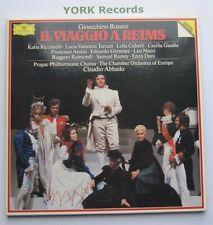 DG 415 498-1 - ROSSINI - Il Viaggio A Reims ABBADO - Ex Con 3 LP Record Box Set