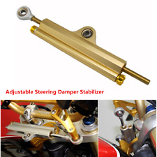 Universal Durable CNC Aluminum Motorcycle Bike Steering Damper Stabilizer New