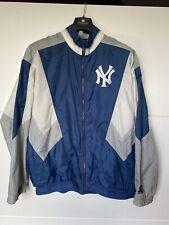 New York Yankee's Vintage Starter Windbreaker Jacket Size L