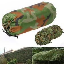 More details for camouflage net camo netting for decoration hunting shooting camping hide 5x1.5m