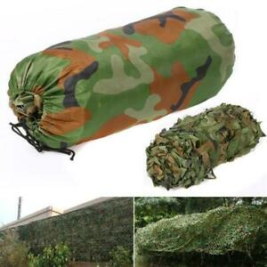 Camouflage Net Hunting/Shooting/Army/Camping/Woodland Hide Camo Netting 5x1.5M