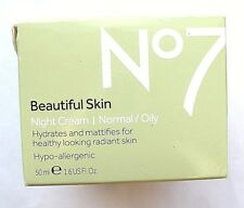 No7 BEAUTIFUL SKIN NIGHT CREAM 50ml NORMAL/OILY SKIN