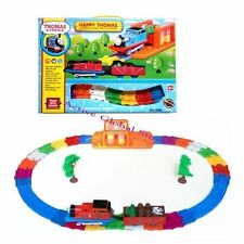 Happy Thomas Electronic Locomotive Train Engine Carriage RunTrack Series Toy-Red