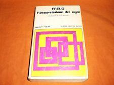 FREUD L'INTERPRETAZIONE DEI SOGNI  NEWTON 1975 BR.CUCITA