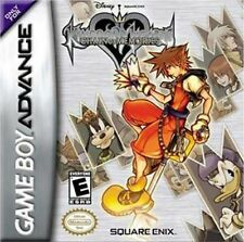 Kingdom Hearts Chain Of Memories - Game Boy Advance Gba