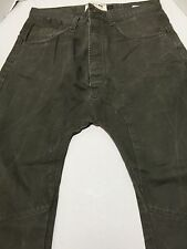 Topman Arc Leg Green Men's Pants 34 S SBH