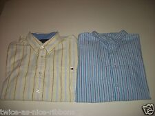 Lot of 2 Tommy Hilfiger and Cherokee Dress Shirts size XL 17 32/33