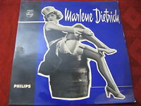 """7""""  EP MARLENE DIETRICH Lili Marleen Sag´mir Adieu PHILIPS 1959 RAR !!!"""