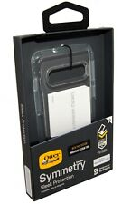 Otterbox Samsung Galaxy S10 Case   Symmetry Bumper Clear Cover Drop Proof   New