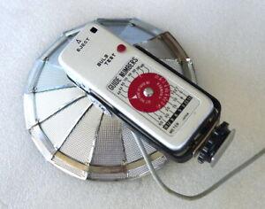 Compact Folding Fan Bulb Flash Unit - EXCELLENT