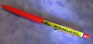 "Vintage Denmark Floaty Ballpoint pen: ""Silver Dollar City"""