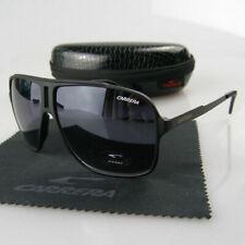 Men Womens Retro Sunglasses Aviator Eyewear Matte Black Fashion Carrera Glasses1