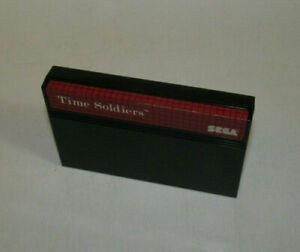 Time Soldiers (Sega Master System, 1988) Fun SMS Authentic Game Nice Shape
