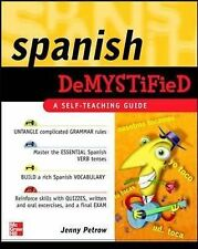 Spanish Demystified: A Self -Teaching Guide-ExLibrary