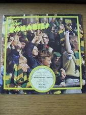 02/04/1977 Norwich City v Manchester United  (Folded, Team Changes)