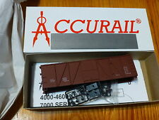 Accurail HO #7098 Data Only Mineral Red (40 O.B. Wood Boxcar) Kit Form
