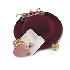 AMERICAN GIRL SAMANTHA'S  ACCESSORIES hat purse for Doll retired FAST SHIPPING