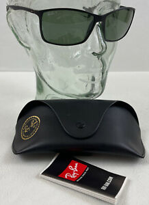 RAY-BAN LITEFORCE RB4179 601S9A 62MM MATTE BLACK / POLARIZED BLACK