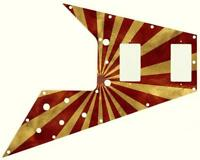 Gibson Flying V Pickguard for '67 Re-Issue Guitar Custom Graphical Big Top Peak
