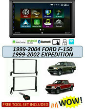 1999-2004 FORD F-150 1999-2002 EXPEDITION STEREO KIT, Apple CarPlay Android Auto