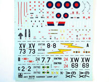 "Esci 9079 Vintage Decals Harrier ""Jump Jet"" 1:72 modelado"