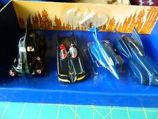 CORGI BATMAN Diecast Cars COLLECTIBLE EDITIONS 4-Pk BATMOBILE Batmarine 1:43