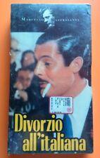 Film Divorzio all'italiana (1962) VHS Mastroianni NUOVO