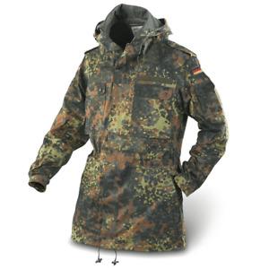 NEW GERMAN FLECKTARN PARKA JACKET FLECK CAMOUFLAGE ARMY ISSUE COAT SIZE XL LONG
