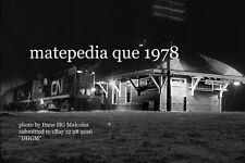Canadian National Rwy station  Matapedia  Quebec 1978