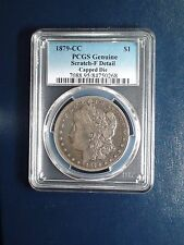 1879 CARSON CITY Morgan Silver Dollar PCGS FINE CAPPED DIE PRICED TO SELL NOW!