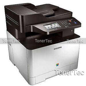 SAMSUNG CLX-4195FW 4-in-1 Wireless Color Laser MFP Printer *RFB*