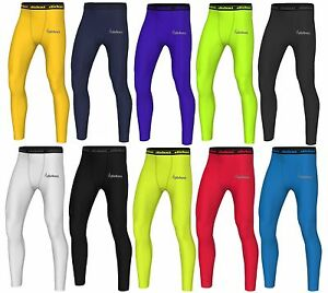 Didoo Mens Compression Cycling Base Layer Tights Gym Long Under Training Fitness