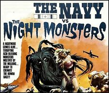 The Navy Vs The Night Monsters 1966 DVD